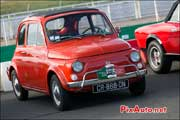Fiat 500 rouge, Autodrome Italian Meeting 2013