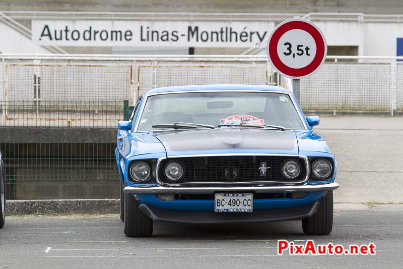 Autodrome-Heritag-Festival, Ford Mustang Boss 302