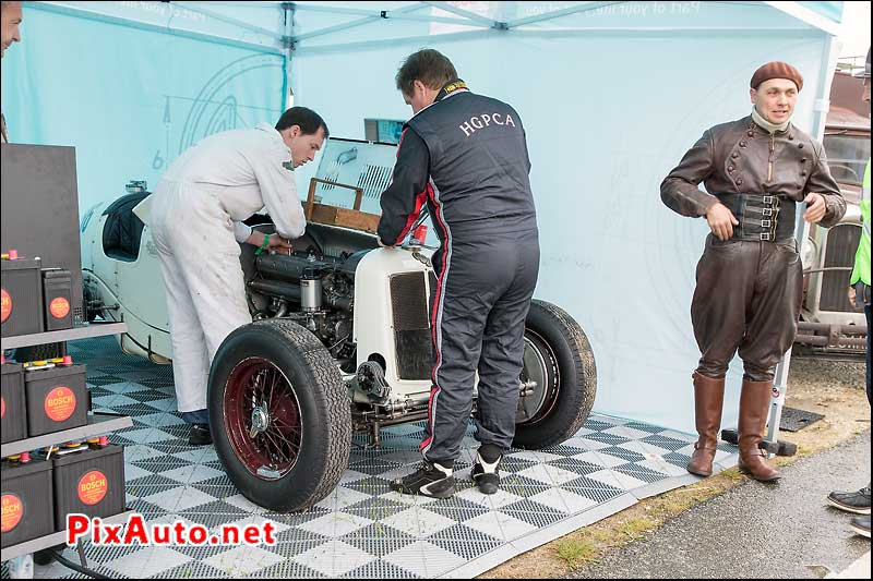 Vintage-Revival-Montlhery, ERA R9B Single Seat Race Car