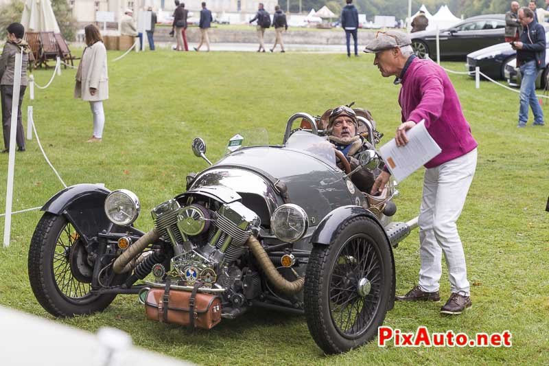Art-&-Elegance-Richard-Mille, Tricyclecar Club Morgan