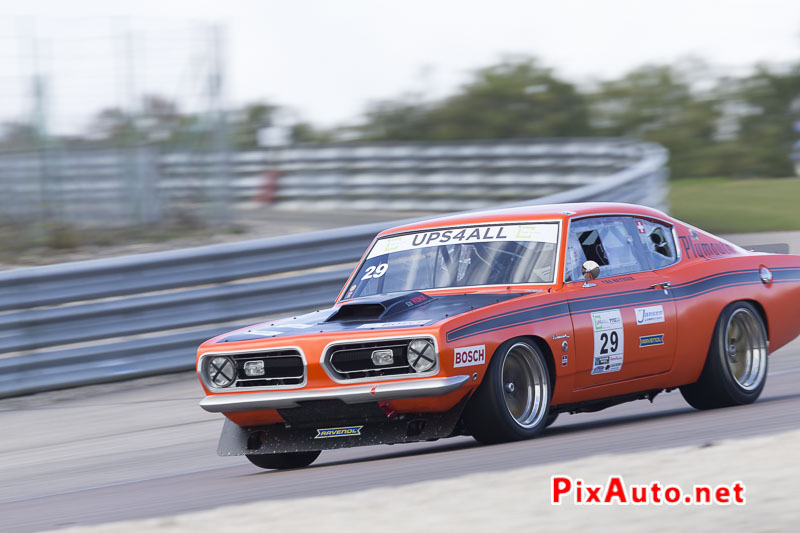 Dijon MotorsCup, plymouth barracuda-s Metzger Urs