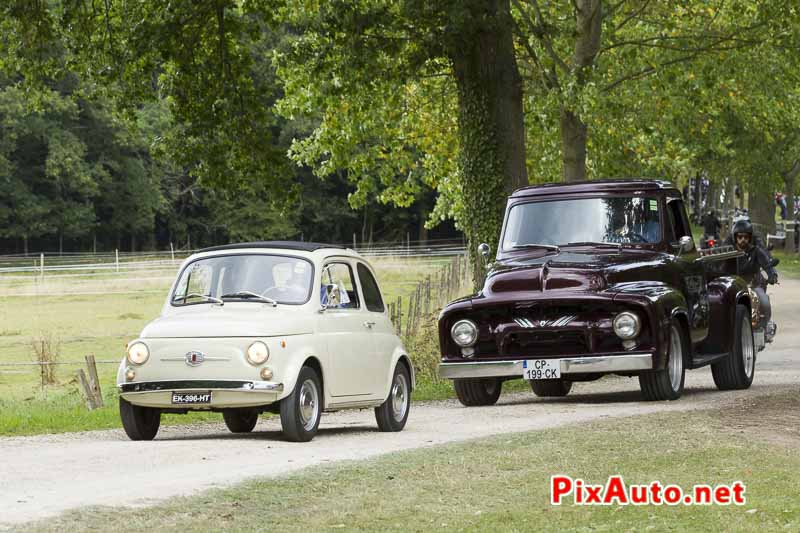 Motors-and-Soul, Fiat 500 et Ford Pickup