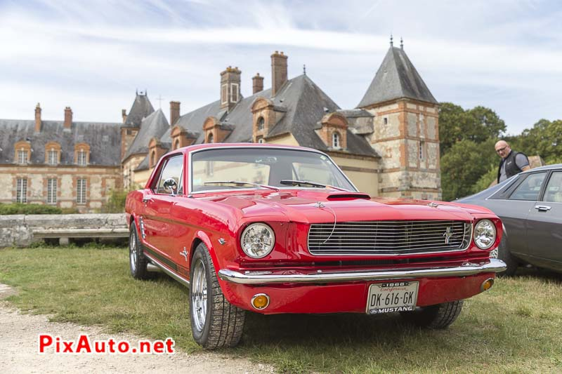 Motors-and-Soul, Ford Mustang Rouge