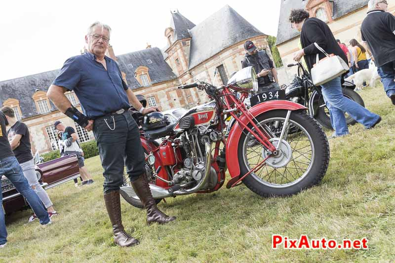 Motors-and-Soul, Sylvain Et Sa Terrot 500 Rss