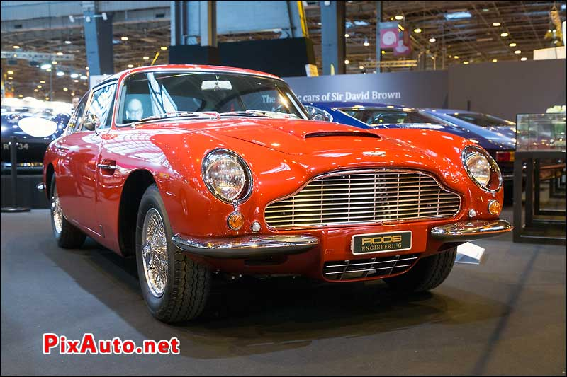 Salon Retromobile, Aston Martin Db6 Saloon Vantage Sagan