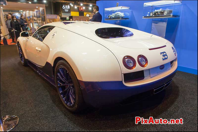 Salon Retromobile, Bugatti Veyron 16.4 Super Sport