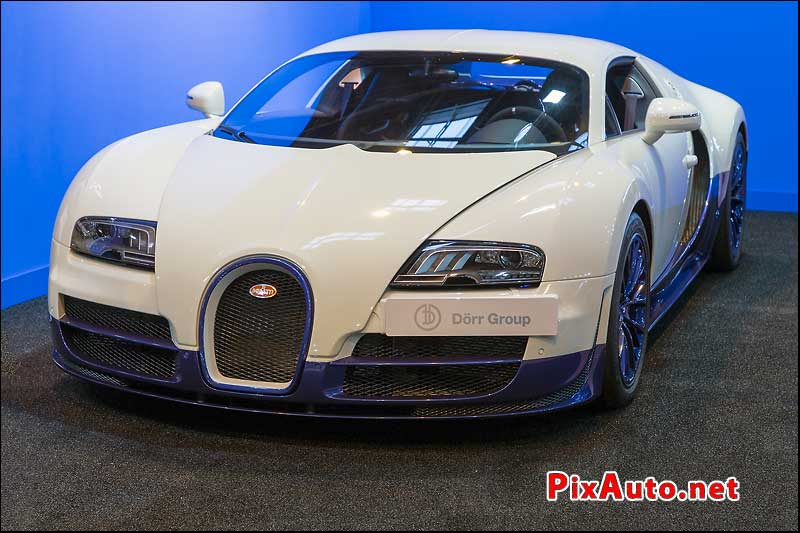 Salon Retromobile, Bugatti Veyron Super Sport