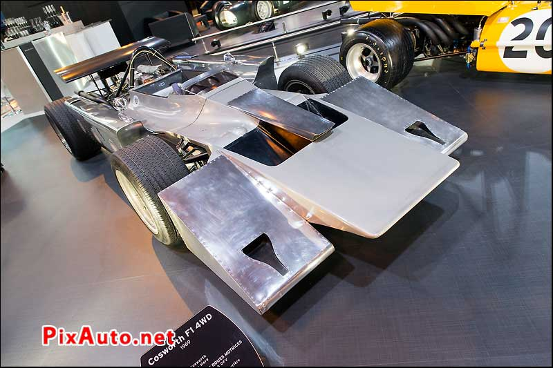 Salon Retromobile, Cosworth F1 4wd 1969