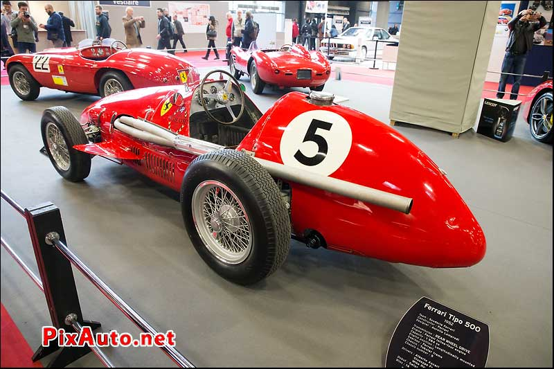 Salon Retromobile, F1 Ferrari 500