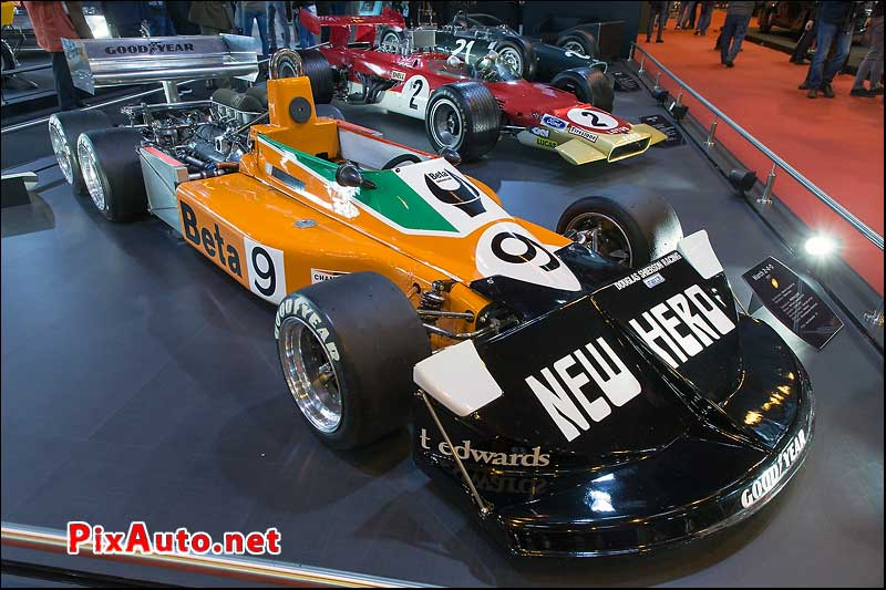 Salon Retromobile, F1 March 6 Roues