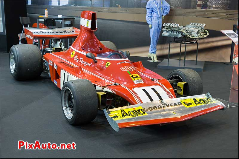 Salon Retromobile, Ferrari 312 B3 Clay Regazzoni 1974