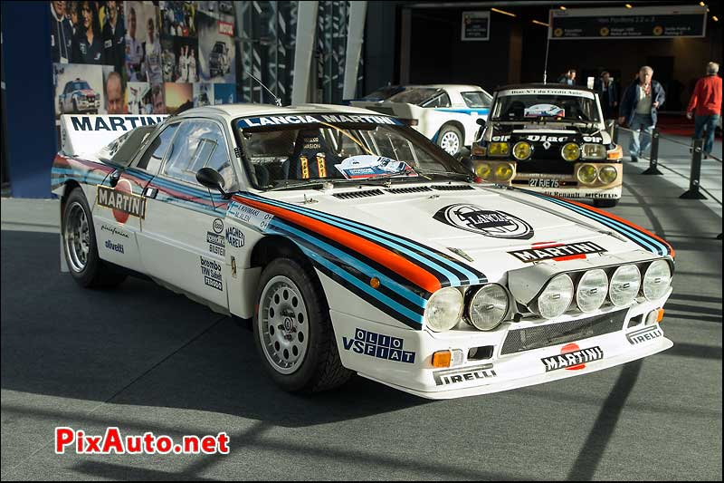Salon Retromobile, Lancia 037 Groupe B