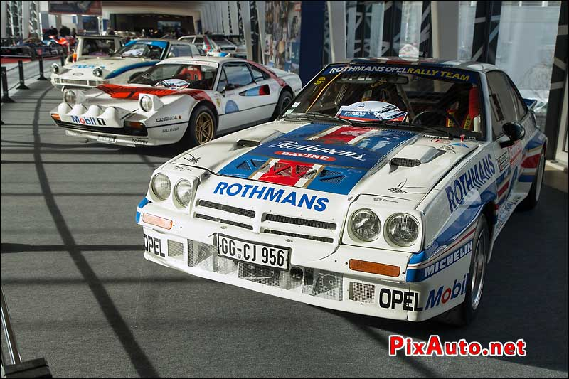 Salon Retromobile, Opel Manta 400 Groupe B