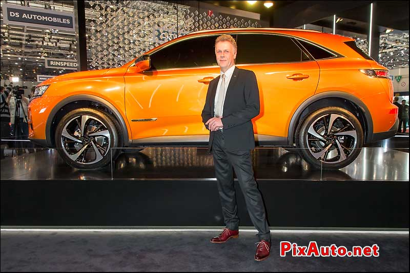 Salon-de-Geneve, Thierry Metroz DS 7 Crossback