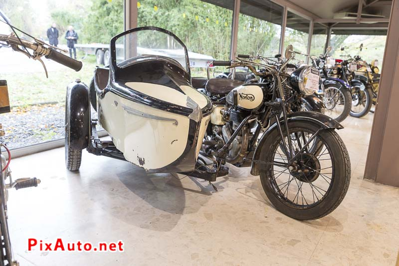 20e Salon-Moto-Legende, Attelage Norton Side-Car Big Four 1942