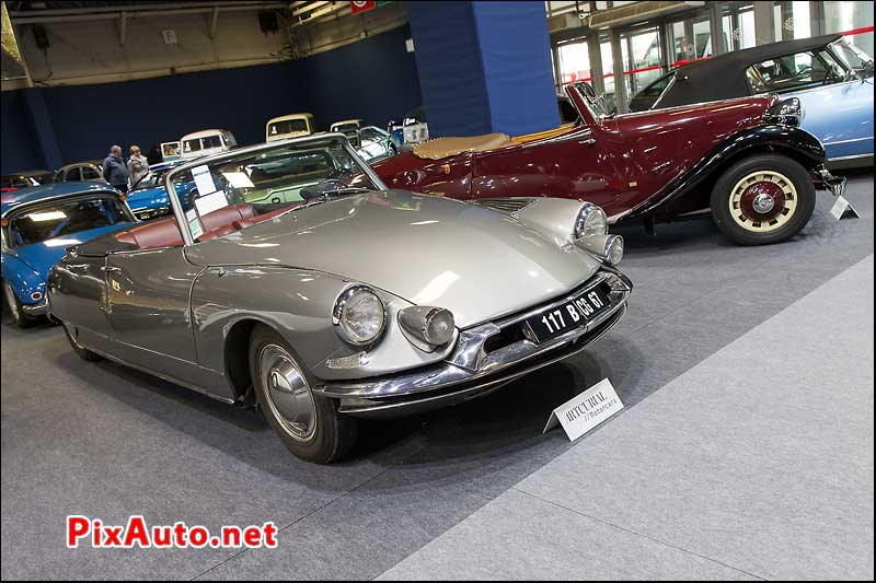 Vente Artcurial Retromobile, Cabriolets Ds19 Et Traction
