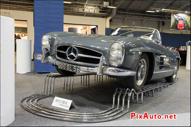 Vente Artcurial Retromobile, Mercedes Benz 300sl Roadster