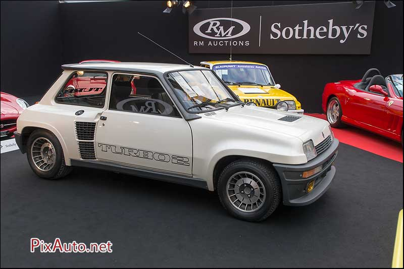 RM Auctions Sothebys, Renault 5 Turbo 2