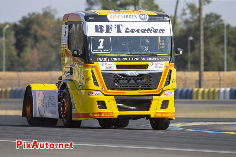 24 Heures Camions, Anthony Janiec Camion Man Tgs Fr