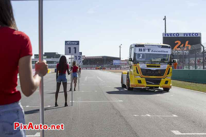 24 Heures Camions, Grid Girls, Anthony Janiec Championnat de France Camions