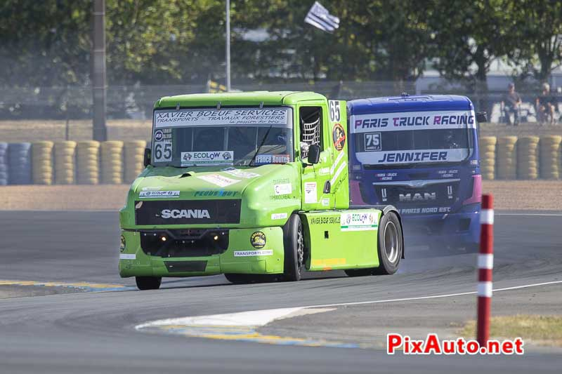 24 Heures Camions, Christophe Miquel Camion Scania T124 Fr