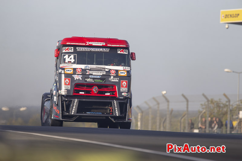 24 Heures Camions, Gregory Ostascewski Camion Renault Premium Fr