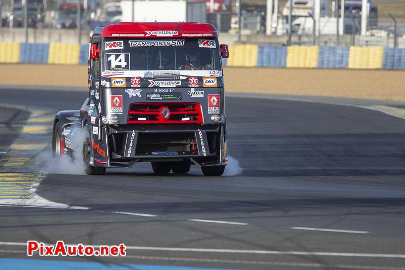 24 Heures Camions, Gregory Ostascewski Renault Premium Fr
