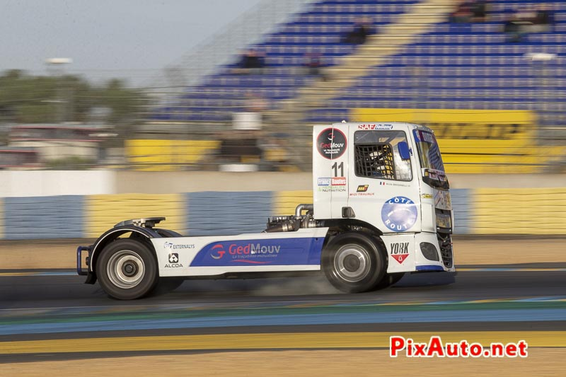 24 Heures Camions, Kevin Bassanelli Camion Daf Cf Fr