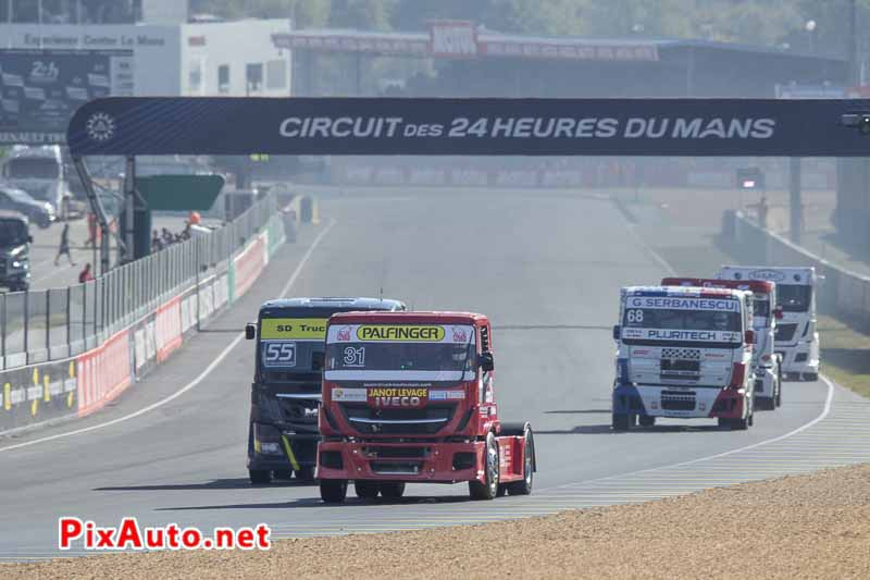 24 Heures Camions, Patrick Chatelain Iveco Stalis Fr