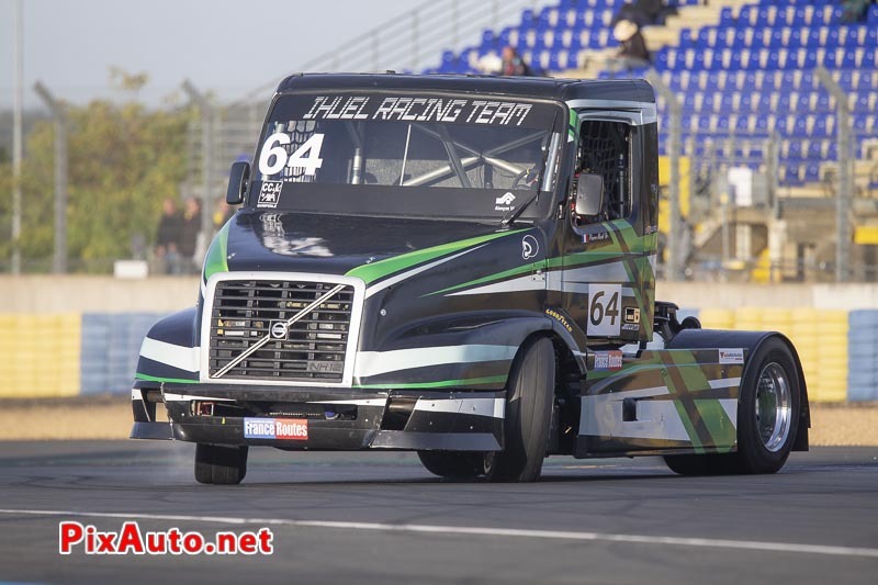 24 Heures Camions, Pierre Ihuel Camion Volvo Nh12 Fr