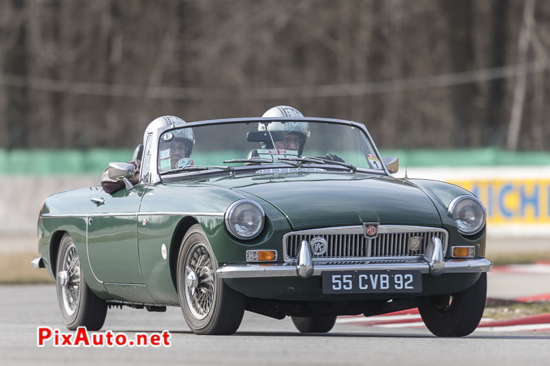 God-Save-The-Car, MG cabriolet Vert