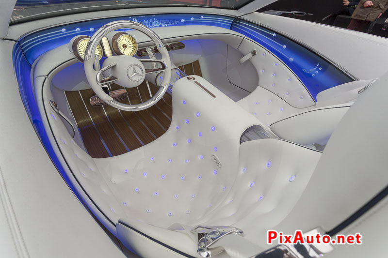 Exposition Concept Car, Habitacle Vision Mercedes-maybach 6 Cabriolet