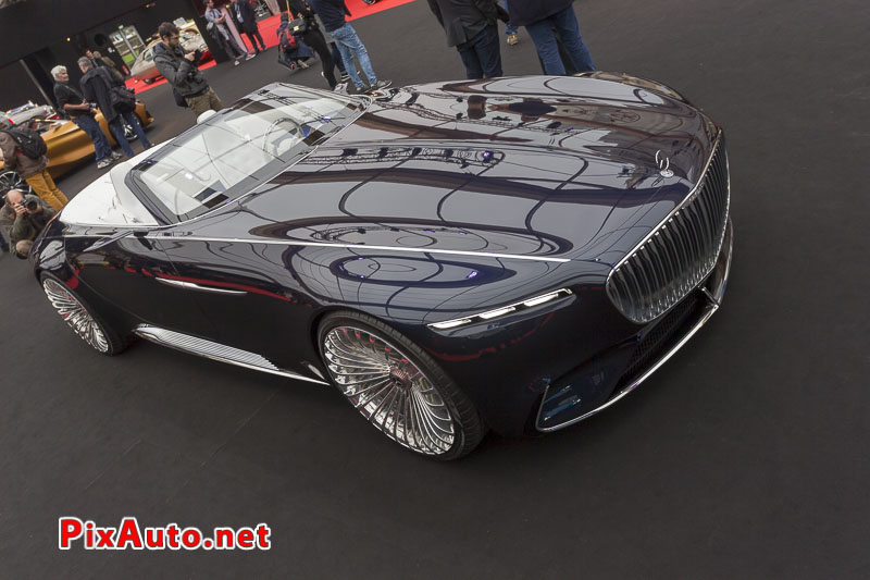 Exposition Concept Car, Vision Mercedes-Maybach 6 cabriolet