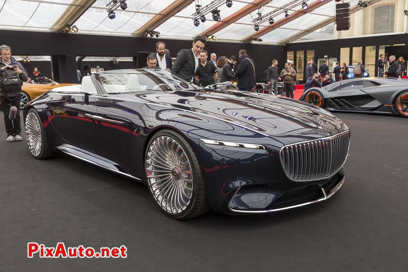 33e Festival-Automobile-International, Vision Mercedes-maybach Cabriolet