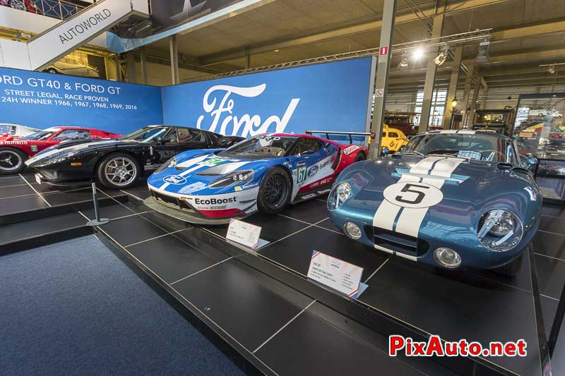 American-Dream-Cars-and-Bikes, Shelby Cobra et Ford GT Le Mans