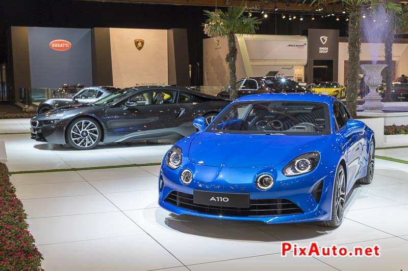 96e Brussels-Motor-Show, Alpine A110 Premiere Edition