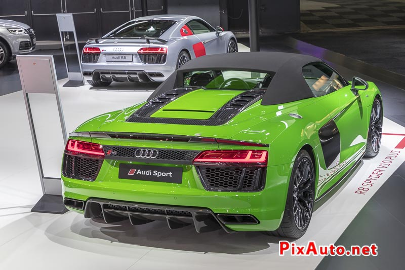 96e Brussels-Motor-Show, Audi R8 Spider et Coupe