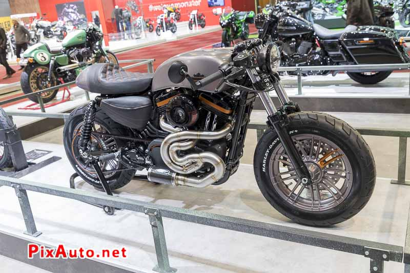 96e Brussels-Motor-Show, Forty-eight Harley-davidson Namur