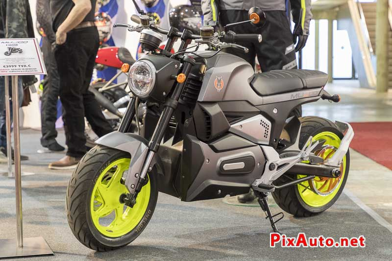 96e Brussels-Motor-Show, Moto Electrique Mujoo F3000R