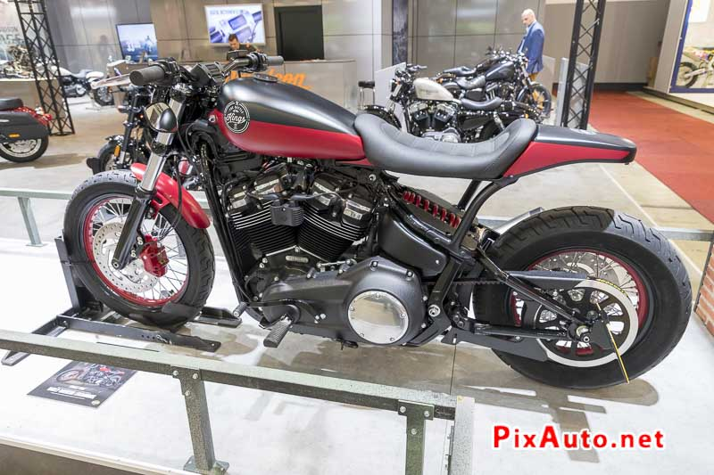 96e Brussels-Motor-Show, Street Bob Harley-davidson Luxembourg