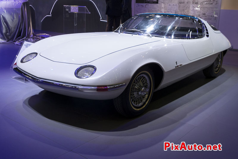 Salon-de-Geneve, Chevrolet Corvair Testudo By Bertone