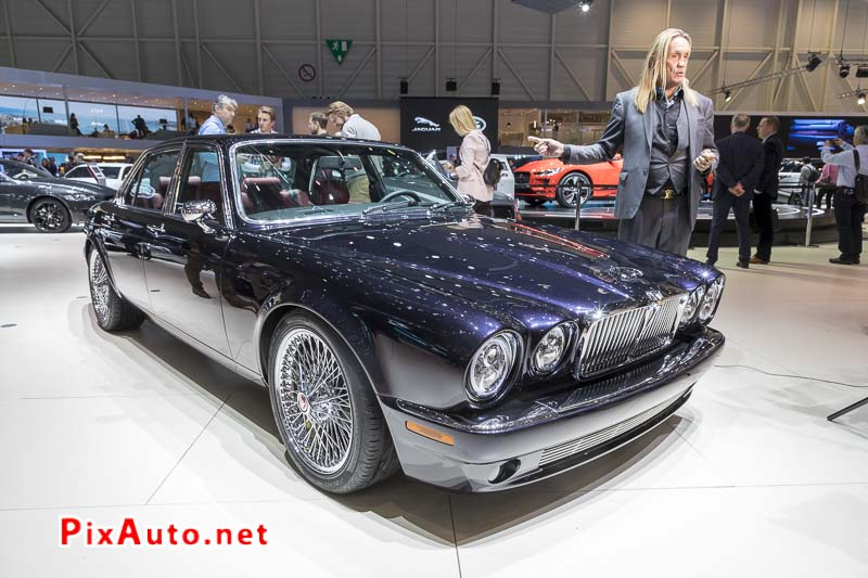 Salon-de-Geneve 2018, Jaguar XJ6 de Nicko McBrain Iron Maiden