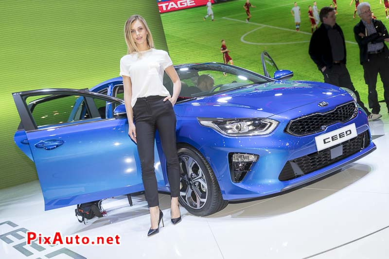 Geneva International Motor Show, New Kia Ceed