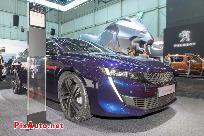 Salon-de-Geneve, New Peugeot 508 First Edition