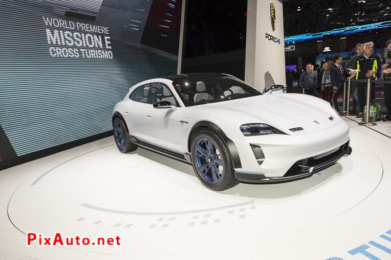 Salon-de-Geneve, Porsche Mission-e Cross Turismo