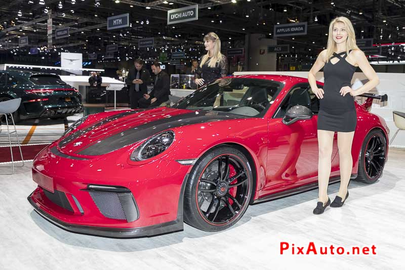 Salon-de-Geneve, Preparation Porsche 911 Techart
