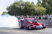 8e European Dragster By ATD, Burn-out Willis Pro Mod