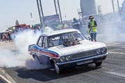 8e European Dragster By ATD, Burn-out Vauxhall Victor Gane Billy