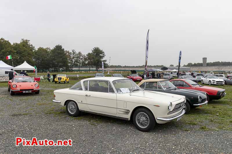 Fiat-Abarth 2300S Ghia au 8e Italian Meeting