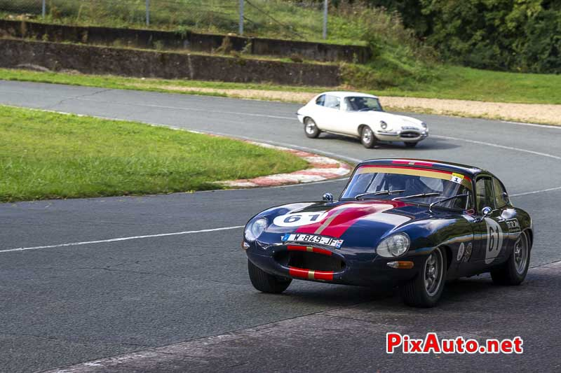 God Save The Car Festival, Jaguar Type E Ex Asave Racing 65